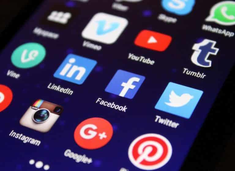 facebook, twitter and other social media platforms- handle